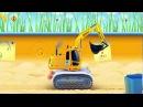 Мультики про Машины для Малышей Рабочие машины Мультик про трактор грейдер и экскаватор