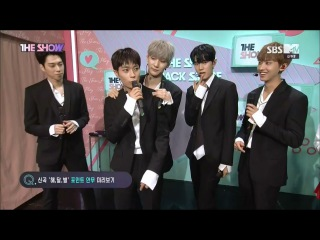 170523 [THE SHOW] Backstage Interview with KNK ( Comeback Stage)