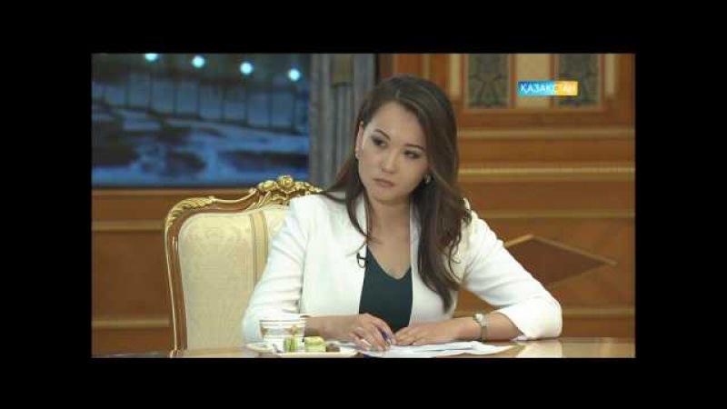 Мемлекет басшысы Нұрсұлтан Назарбаевтың республикалық БАҚ өкілдерімен сұхбаты...
