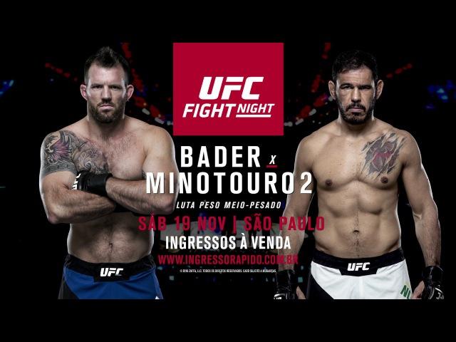 Em 19 de novembro o UFC retorna ao Ginásio do Ibirapuera