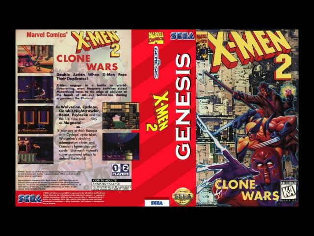 SEGA Genesis Music X Men 2 Clone Wars Full Original Soundtrack OST