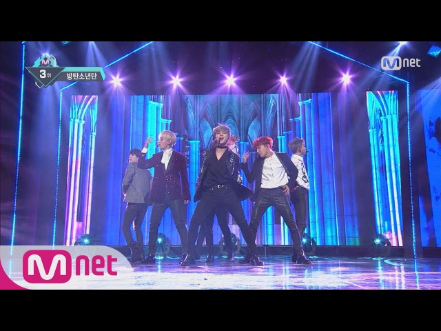 BTS Blood Sweat Tears KPOP TV Show M COUNTDOWN 161101 EP.499