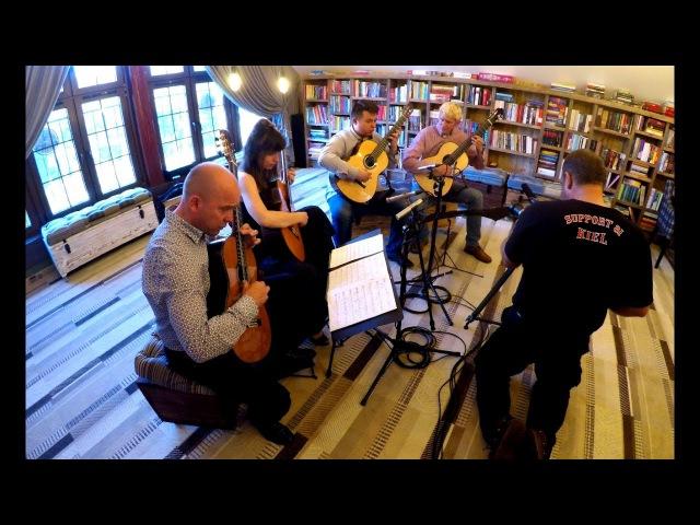 SCINTILLA After Arvo Pärt for LAGQ Marek PASIECZNY guitar quartet