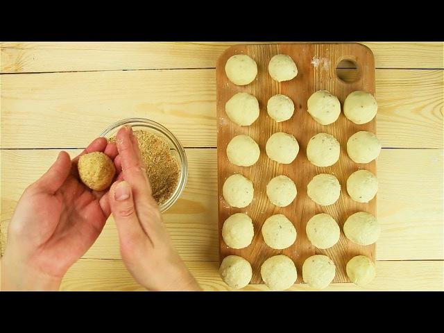 Домашние пончики с сыром Рецепты от Со Вкусом