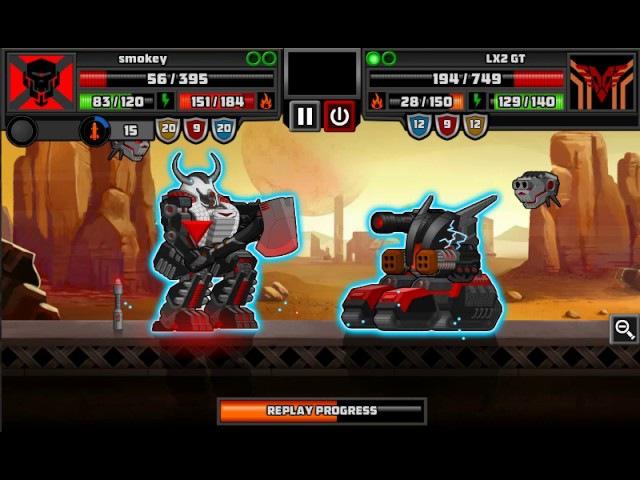 SuperMechs LX2 GT vs smokey
