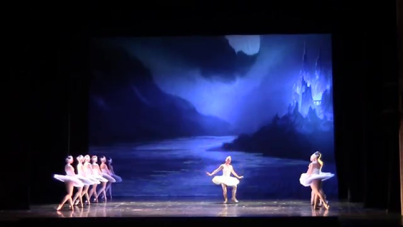 Swan Lake A Lomachenkova and A Ploom ballet thater 1