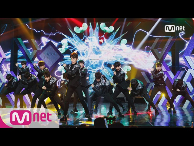BOYS24 E KPOP TV Show M COUNTDOWN 161101 EP.499