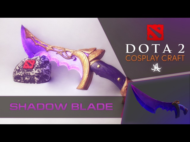 How to do Shadow Blade Dota 2 cosplay by JustTTv