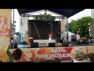 Праздник День Молодежи (танец Алёны Двойченковой)  (ч5)
