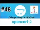 Обзор модуля SEOGen для ocStore/Opencart 2.x 8