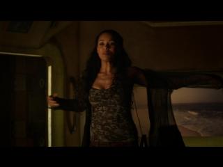 Melanie Liburd Sex Scene - Dark Matter (2016) s02e09 (1080p)