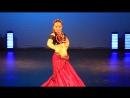Amdjad Dance Studio Dance with fan Veils Solo Badanina Anstasia