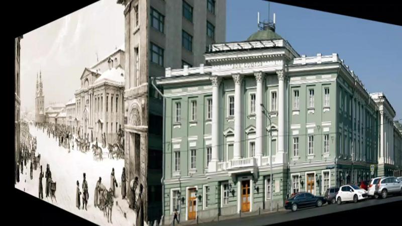 Благородное собрание Большая Дмитровка дом 1собрание