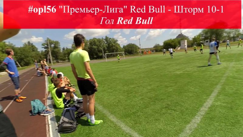 Голы Летний сезон Премьер Лиги Red Bull Шторм 10 1