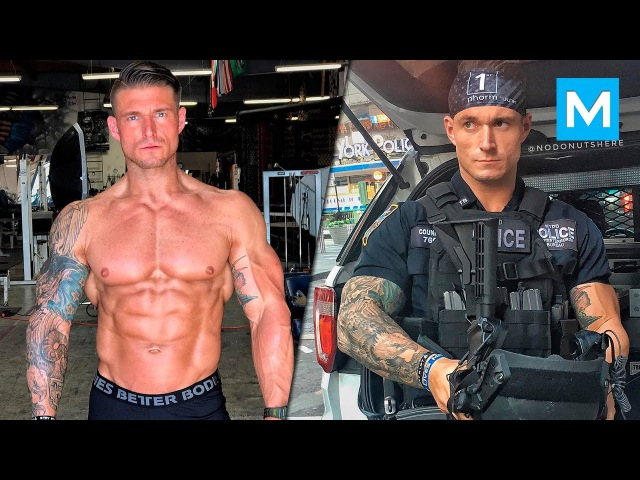 Strongest Cop from NYPD Michael Counihan Muscle Madness