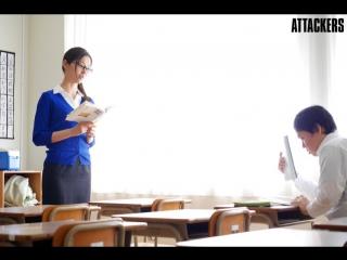 Iroha Natsume. Принуждение училки к сексу. Drama. Fem teacher was forced into the sex