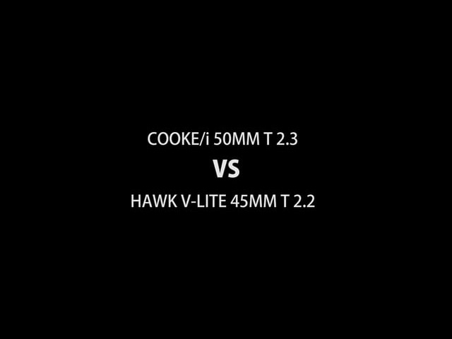 COOKE/i VS HAWK V-Lite Anamorphic Test