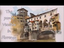 Time lapse Line and Wash of the Ponte Vecchio Bridge Italy Peter Sheeler