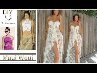 DIY For LOVE and Lemons- White Lace Top & Dress-Beginner Level
