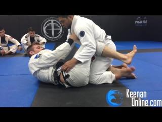 Keenan cornelius krab guard. exclusive technique ft. andre galvao