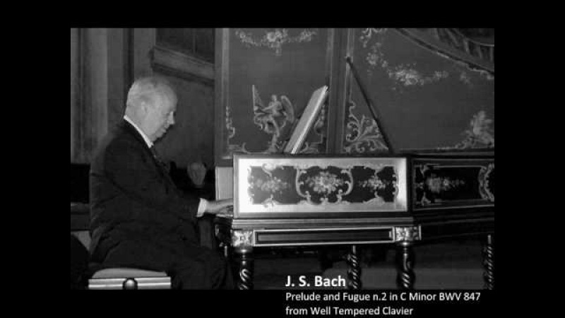 J. S. Bach - Prelude and Fugue n.2 in C Minor BWV 847 (WTC I)