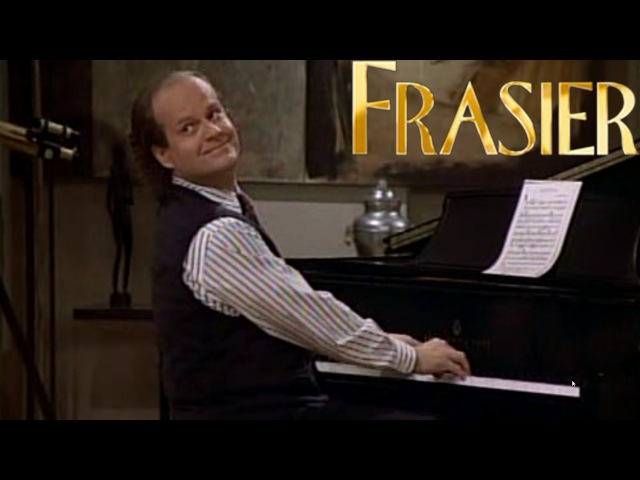 Frasier plays Great Balls of Fire
