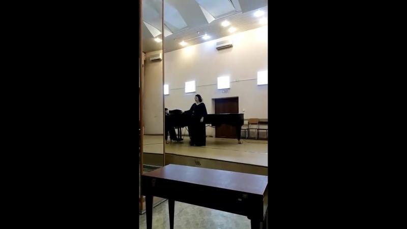 Даргомыжский Песня Ольги из оперы Русалка