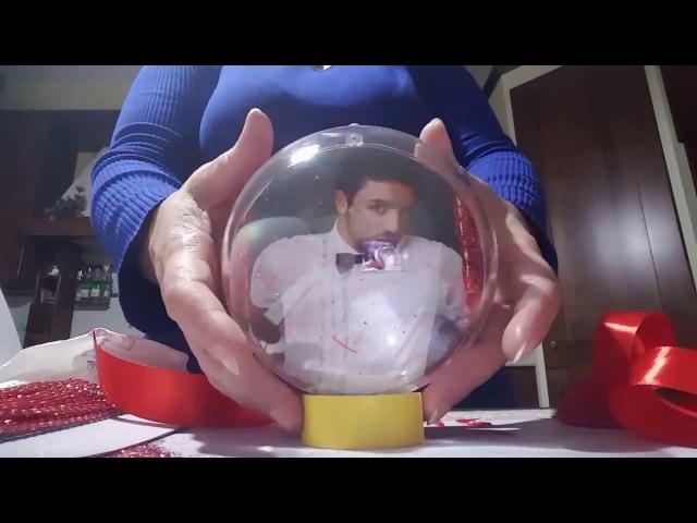 Tutorial Pallina di Natale personalizzata con foto x Alex Puca