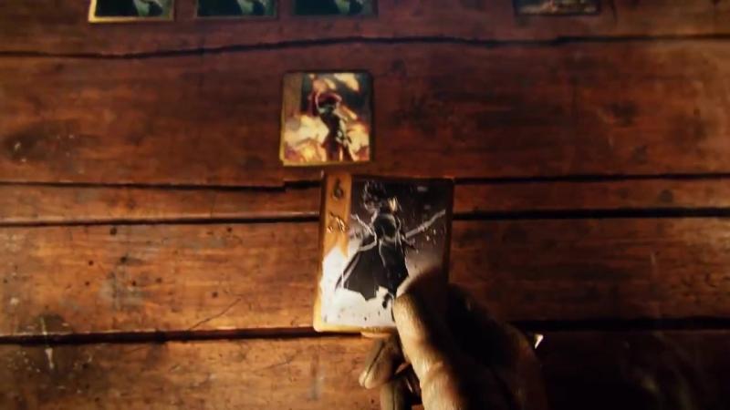 Кинематографический трейлер в честь бета-тестирования игры Гвинт Ведьмак. Карточная игра!