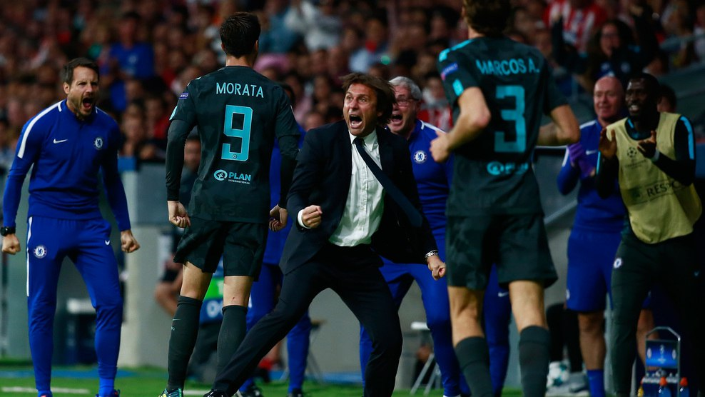 122. Atlético Madrid (ESP) - Chelsea FC (ENG) 1:2