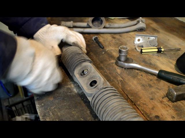 как устранить стук в рулевой рейке ВАЗ 2109