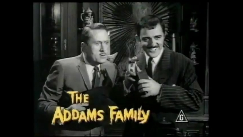 The Goodies The Addams Family (Реклама) 1990