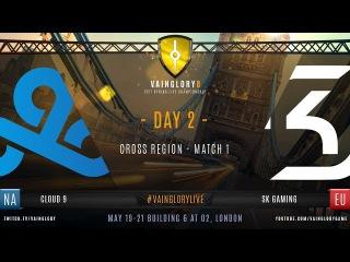 Vainglory 8 London: SK Gaming vs Cloud 9
