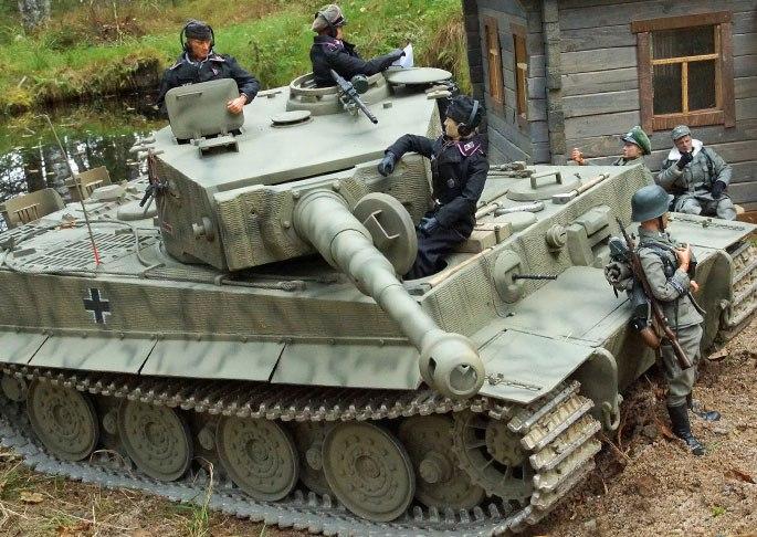 Тигры в миниатюре