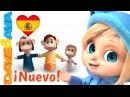 👋 Сanciones Infantiles | Canciones Infantiles en Español de Dave y Ava | La Familia Dedo 👋