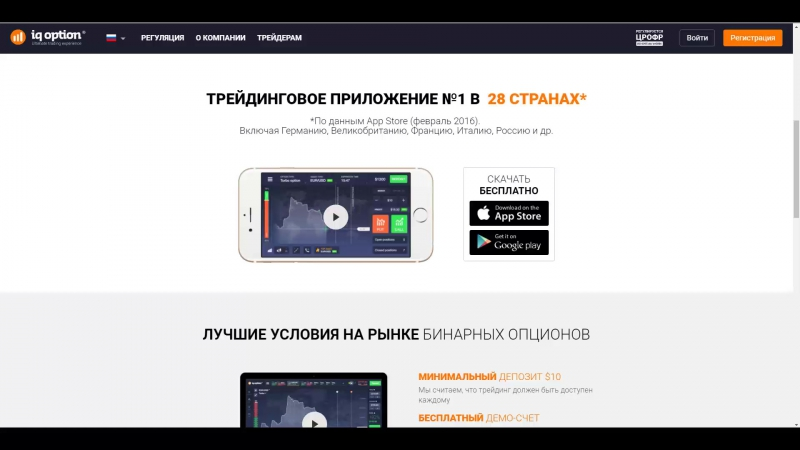 Обзор IQOption