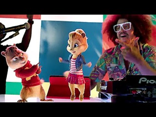 Alvin And The Chipmunks 4  'The Road Chip' - JUICY WIGGLE CLIP (Redfoo)