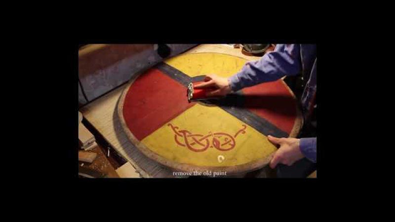 Щит викинга своими руками (восстановление). Shield of the Vikings own (recovery)