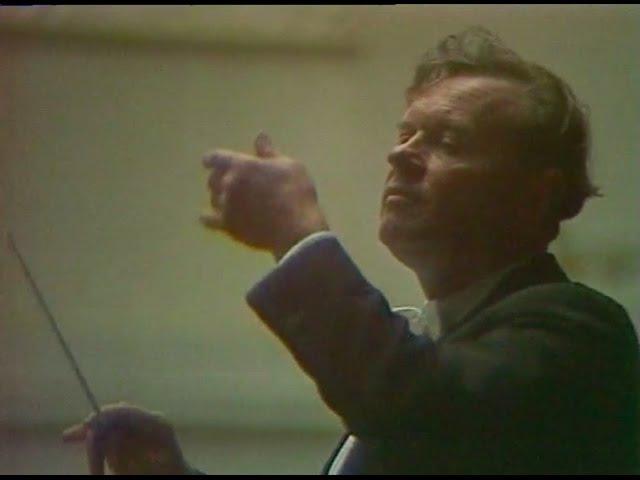 Evgeny Svetlanov conducts Scriabin Symphony no 3 video 1977