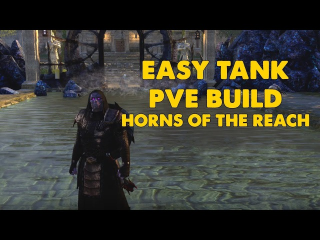 ESO - Easy Tank PVE Tank build - (Horns Of The Reach)