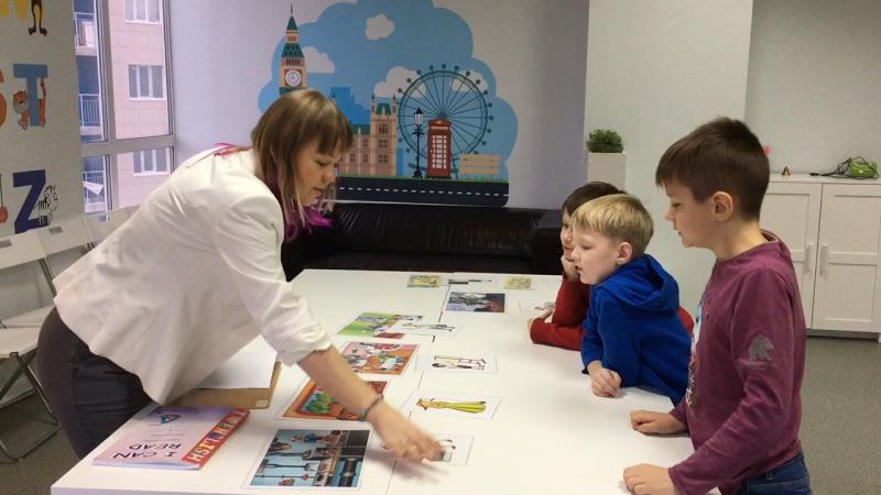 Методика I Love English, курс I Can Read, урок 4-1 часть 3 г.Новосибирск, школа LESKids