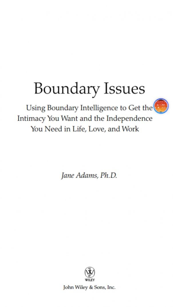 Boundary Issues Using Boundary Intelligence