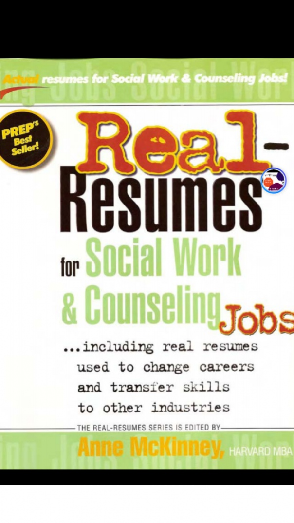 Real Resumes for Social Work and