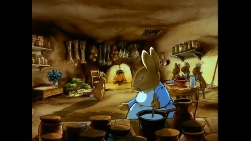 Беатрикс Поттер (Beatrix Potter) Мир кролика Питера 1 серия Сказка о Кролике Питере и Крольчонке Бенджамине
