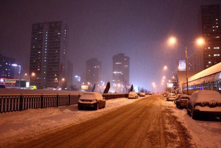 фото зимней москвы с машины картинки