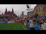 Cesar Villalobos Moscow Red Square WC 20108- Москва, Красная площадь, ЧМ 2018