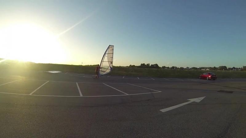 GoPro Windskating