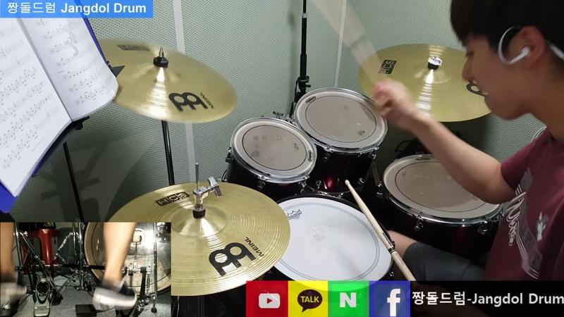 돌브레인-더위 먹은 갈매기 / 짱돌드럼 Jangdol Drum (드럼커버 Drum Cover, 드럼악보 Drum Score)