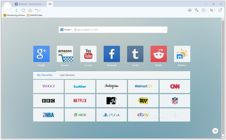 Maxthon 5 браузер на старый ПК