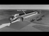 Airship ground handling at an airbase in United States. HD Stock Footage